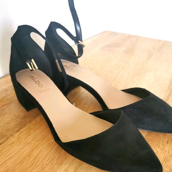Aldo Suede Shoes Size 8.5